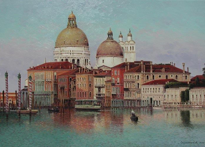 Grand Canal Venice by  Vasily Gribennikov - Masterpiece Online