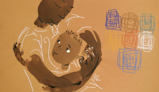 Hug Me Close by  Chris Raschka - Masterpiece Online