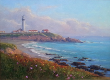 Pigeon Point, Golden ... by  Sally  Jordan - Masterpiece Online