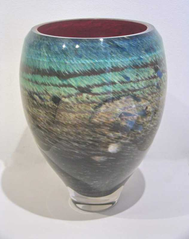 Cadmium Agate by  Rick Mills - Masterpiece Online