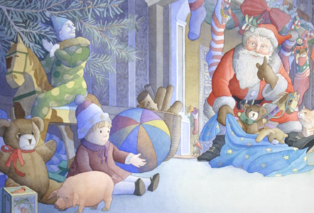 Night Before Xmas by  Julie Downing - Masterpiece Online