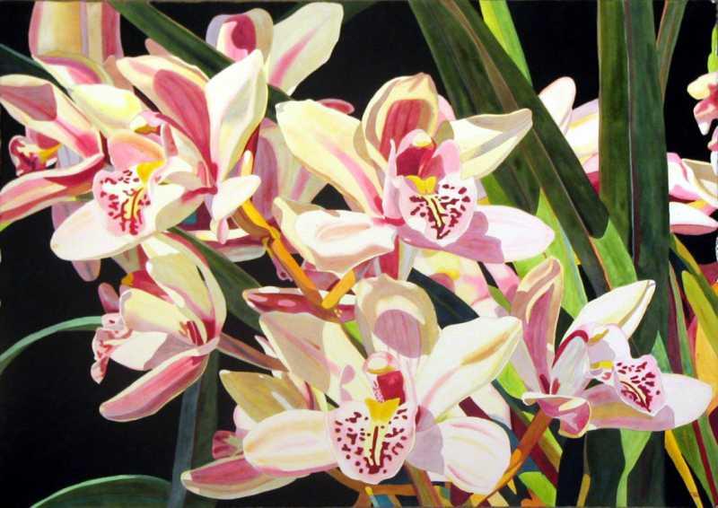 Bouquet D'Orchide'Es by  Fabienne Blanc - Masterpiece Online