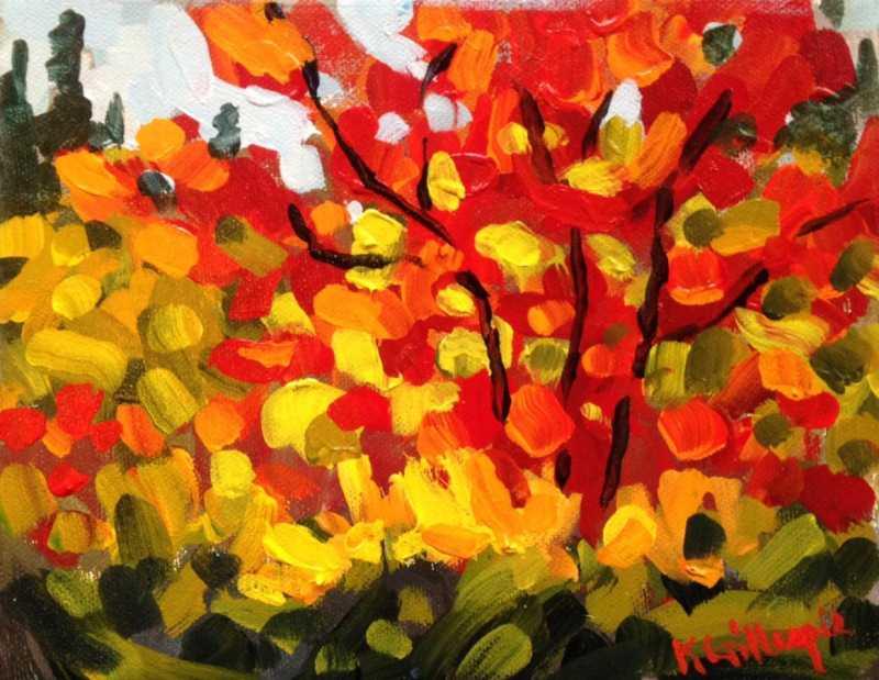 Red Maple by  Ken Gillespie - Masterpiece Online