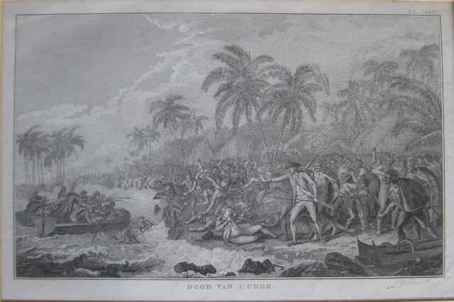 Dood van Cook (Death ... by  John Webber (1752-1793) - Masterpiece Online