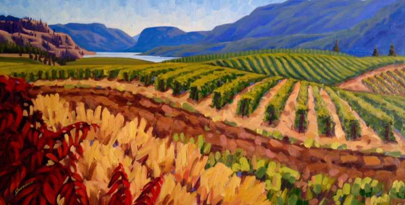 Sumac at Blue Mountain by  Jessica Hedrick - Masterpiece Online