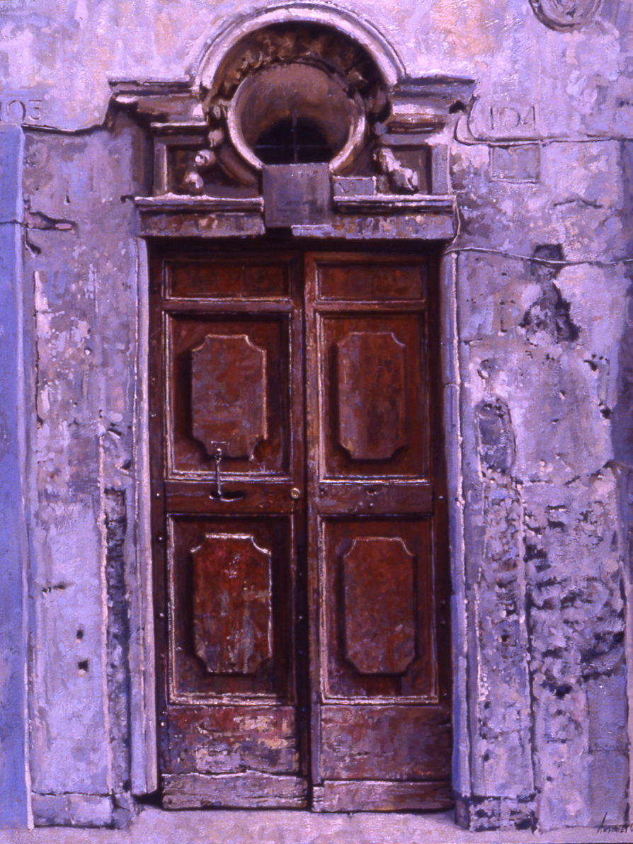 Doors of Tuscany, I by  Daud Akhriev - Masterpiece Online