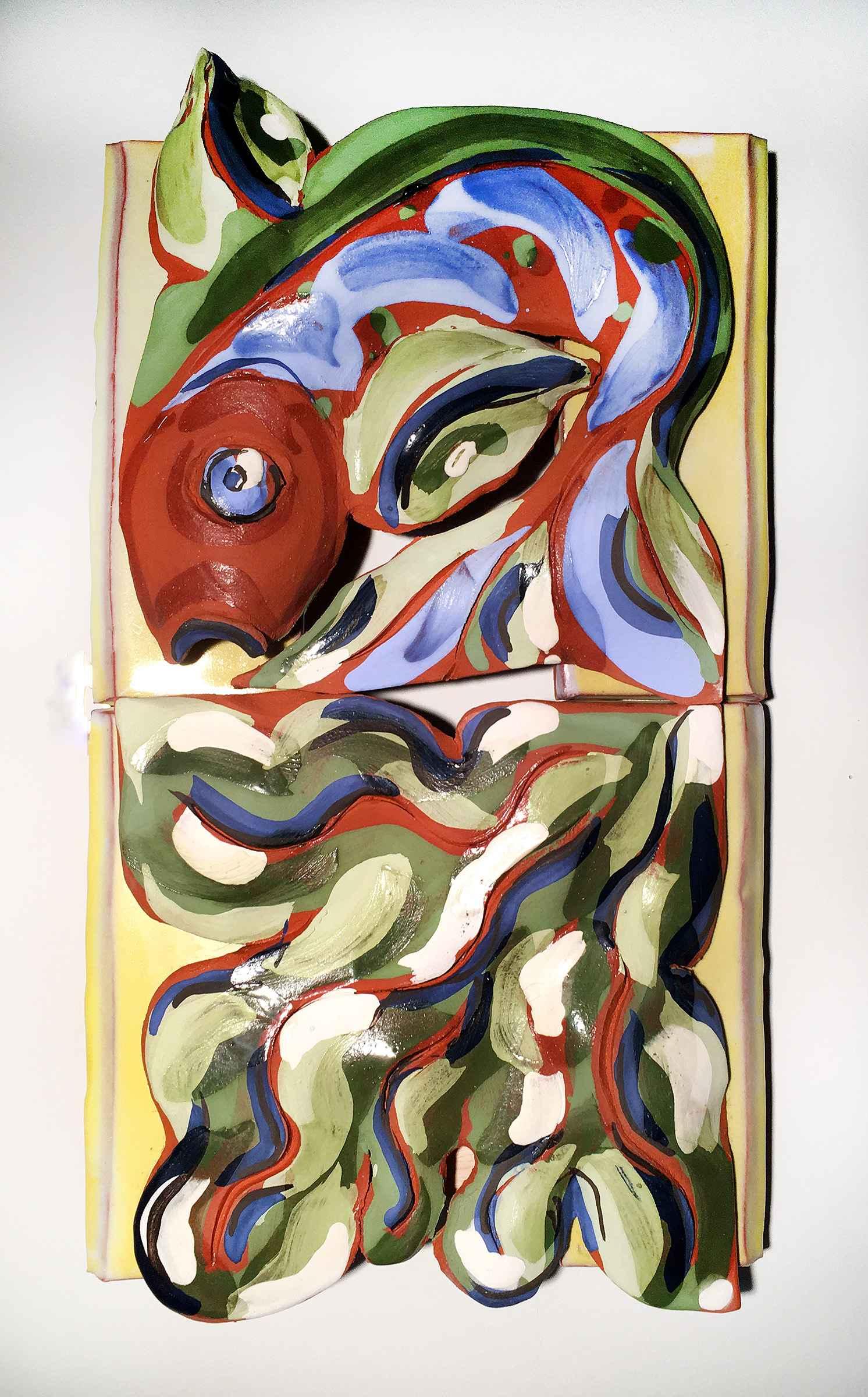 Fish in Marsh by  Nancy Kramer Bovee - Masterpiece Online