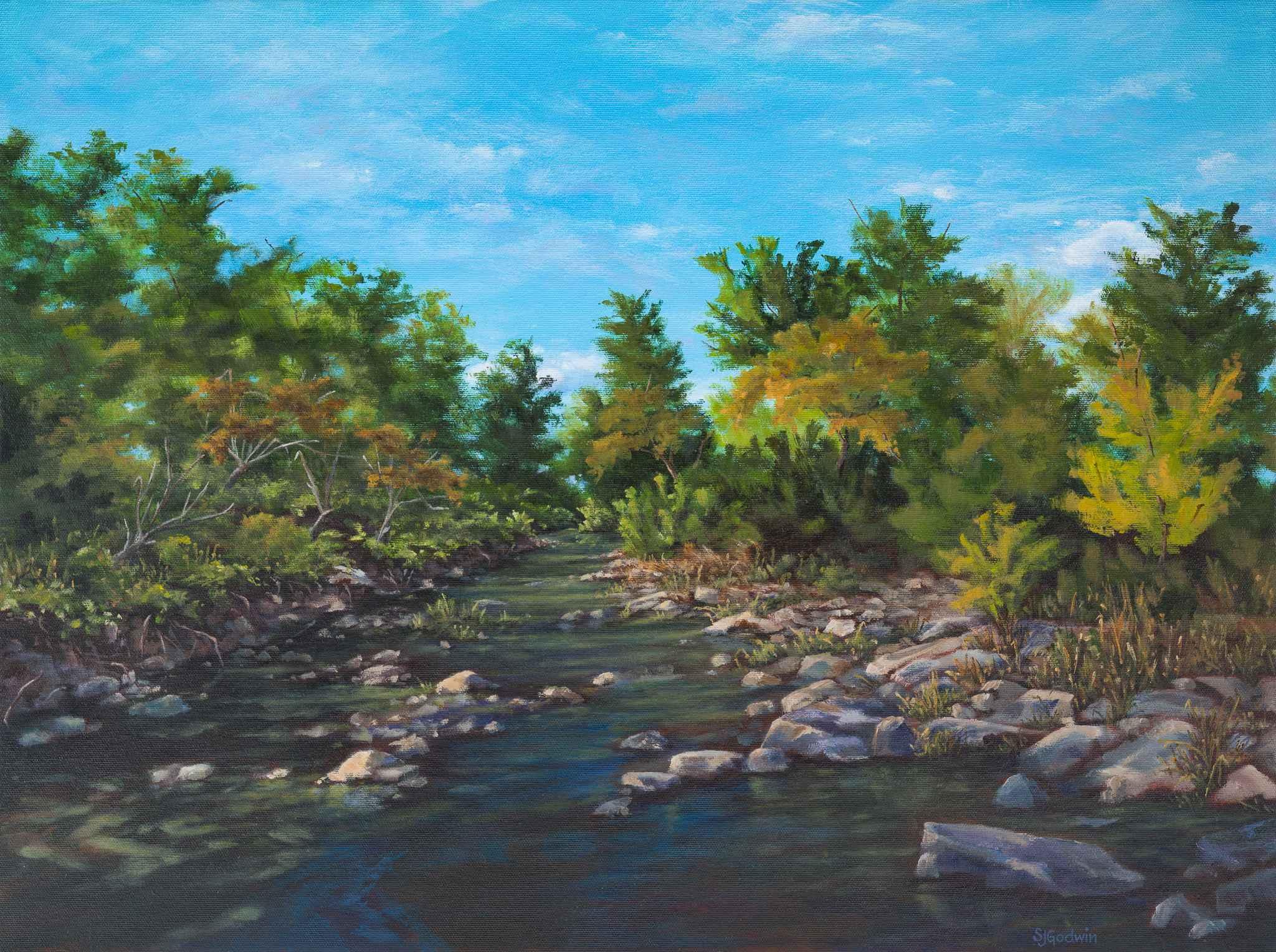 Humboldt Creek Hues by  Sue Godwin - Masterpiece Online