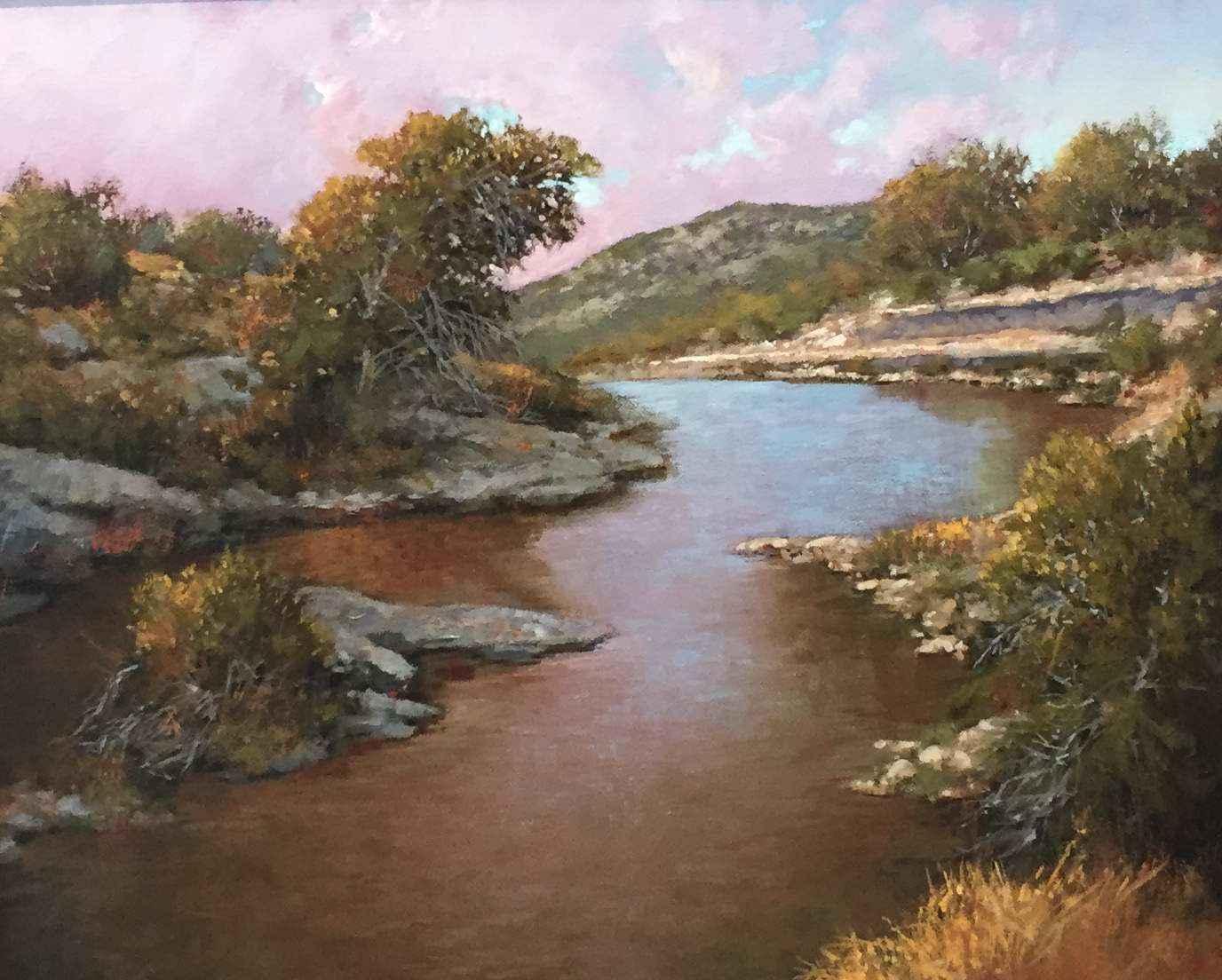 October Evening by Mr Gary Jack Thornton - Masterpiece Online