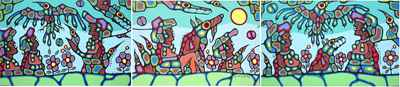 Shamans Unite for Mot... by  Norval Morrisseau - Masterpiece Online