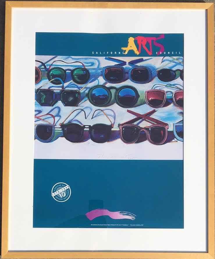 Sunglasses  (T008)  by  Wayne Thiebaud