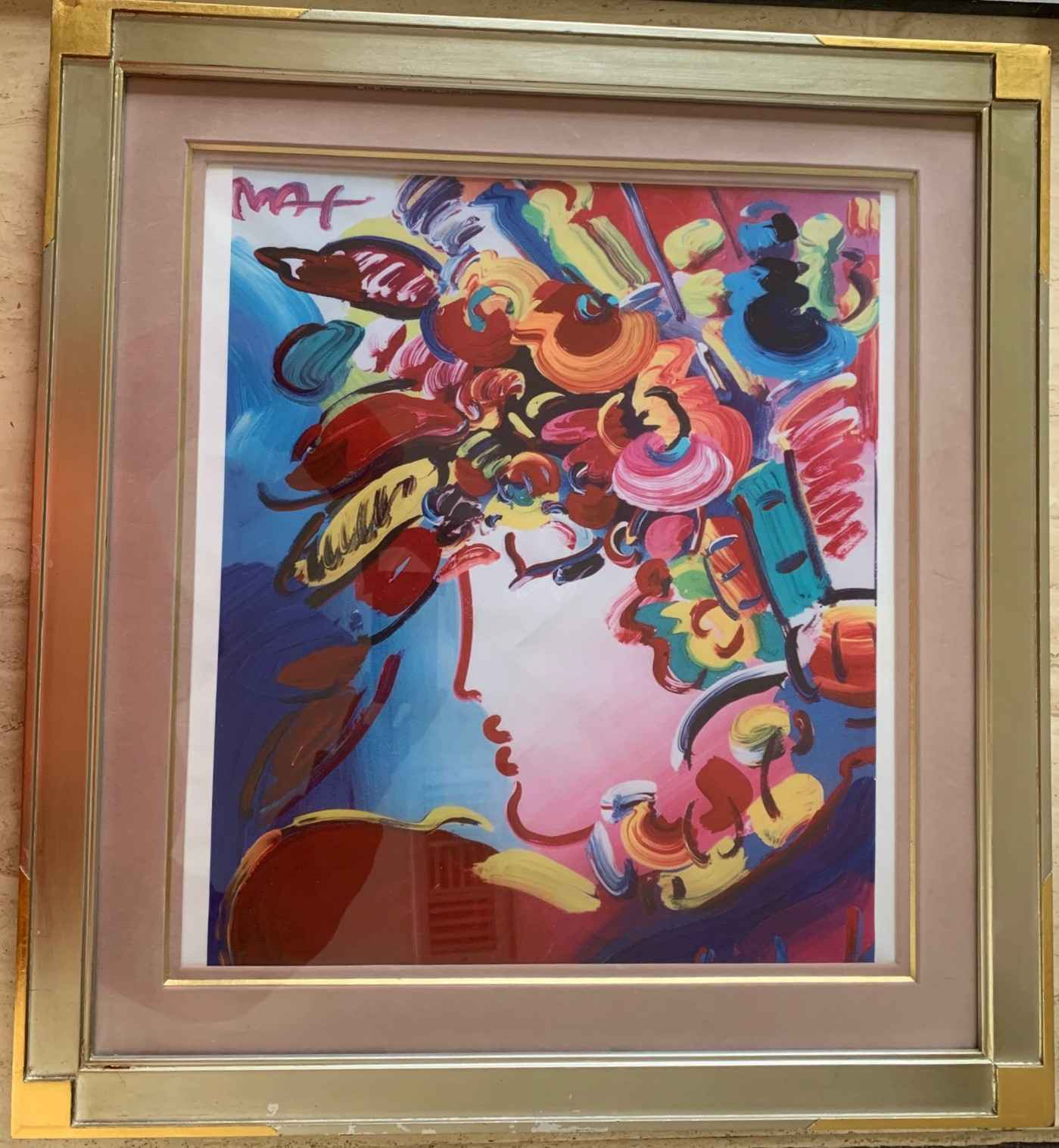 Blushing Beauty (Blos... by  Peter Max - Masterpiece Online