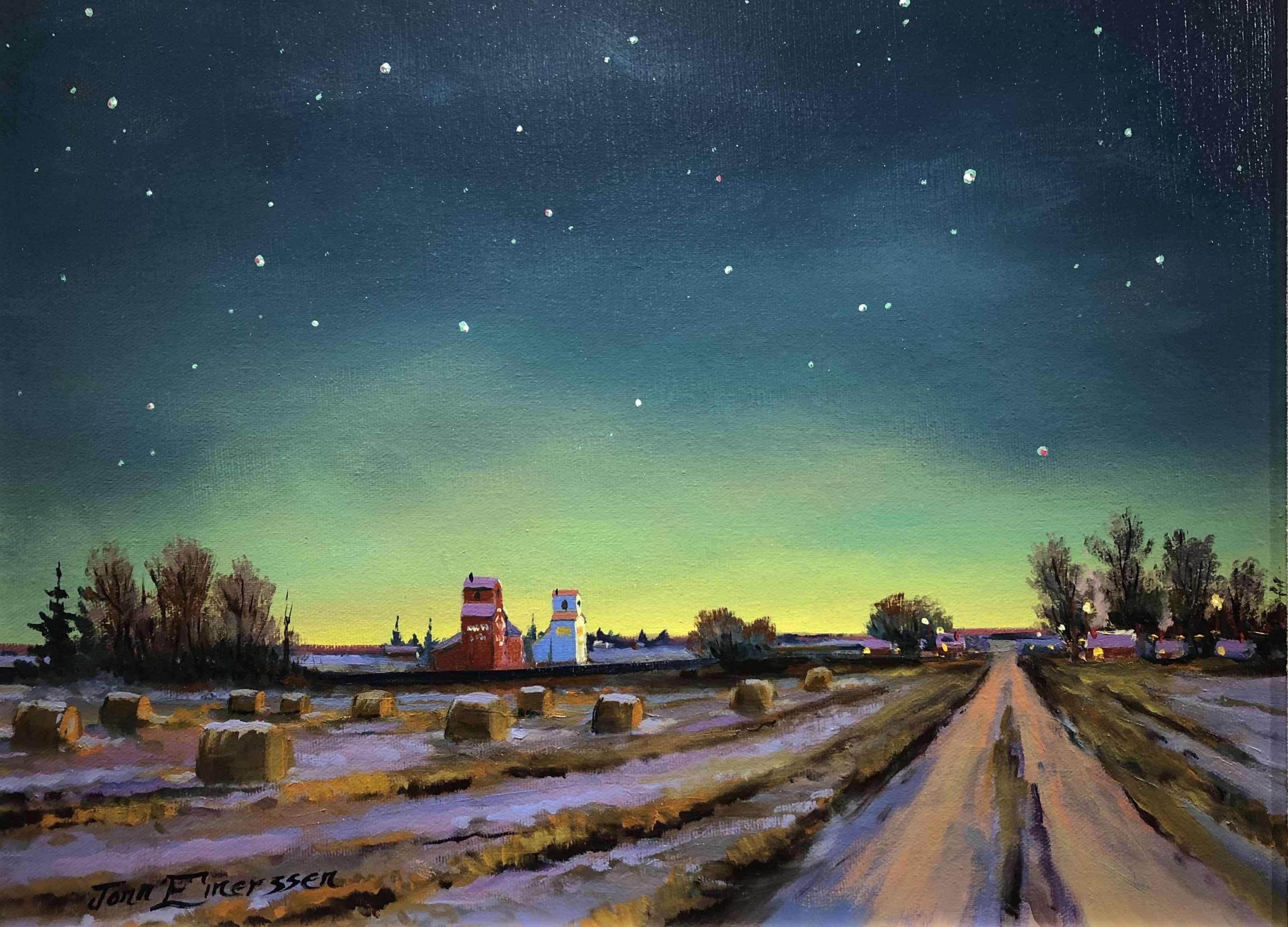 Early Winter by  Jonn Einerssen - Masterpiece Online
