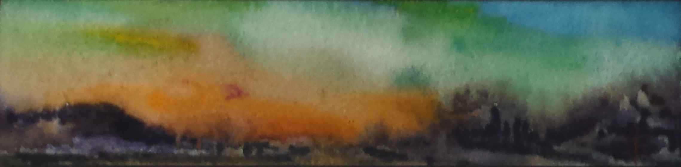 Untitled (Orange and ... by Mr. Terry Firkins - Masterpiece Online