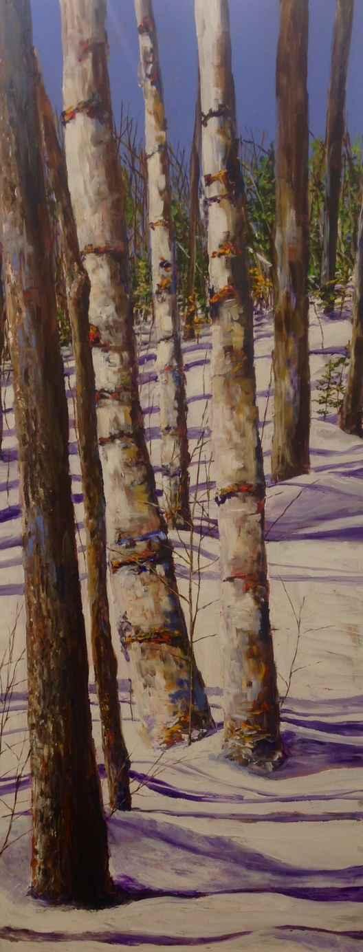 Birch Walk by  Jamie MacLean - Masterpiece Online