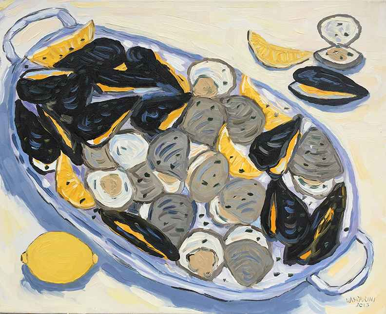 Shellfish Platter by  Claudio Gasparini - Masterpiece Online