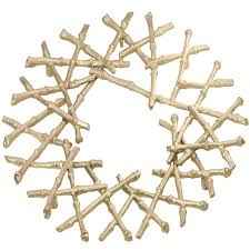 Bamboo Trivet, Gold