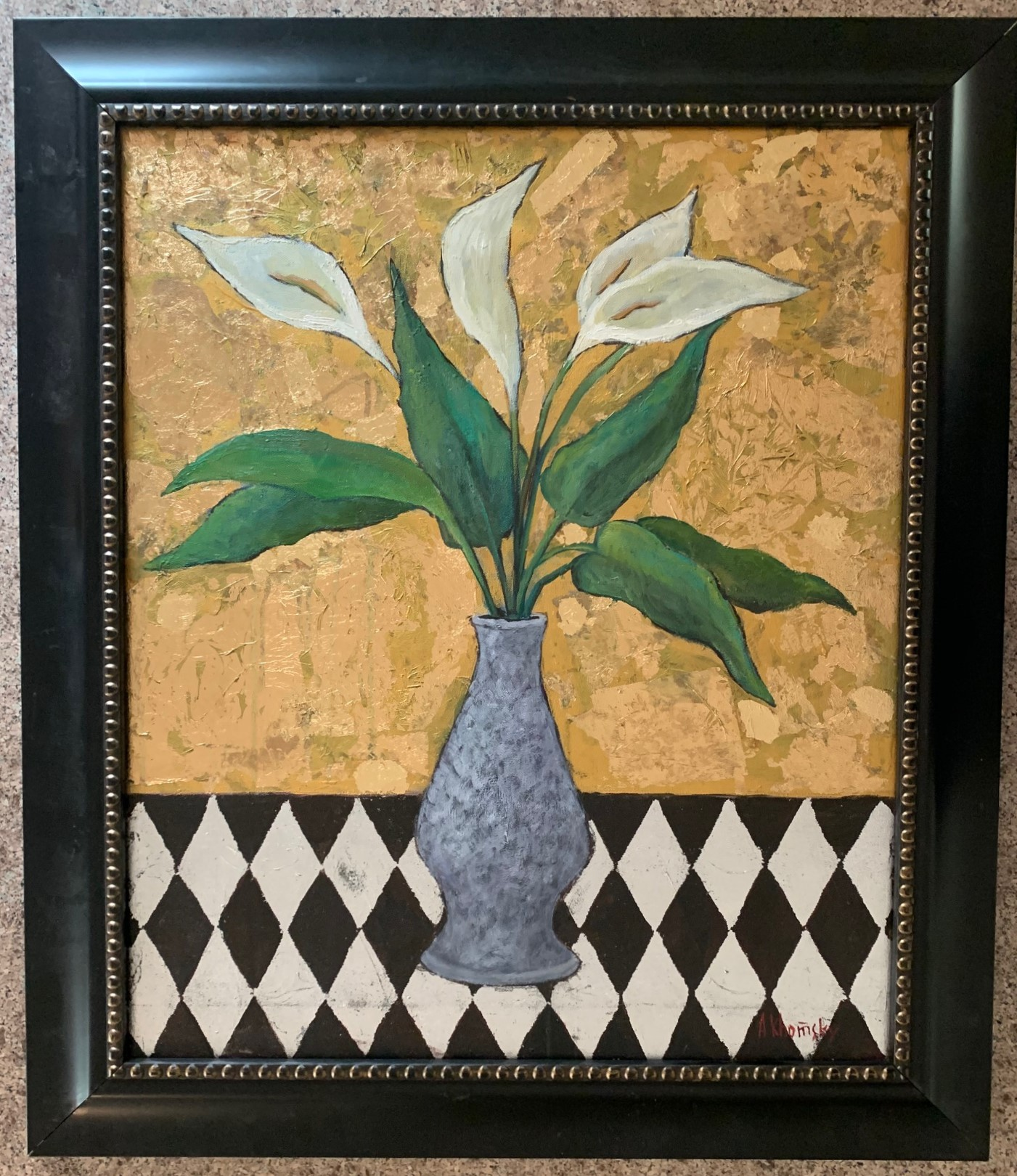 Calla Lilies Floral S... by  Alexander Khomsky - Masterpiece Online