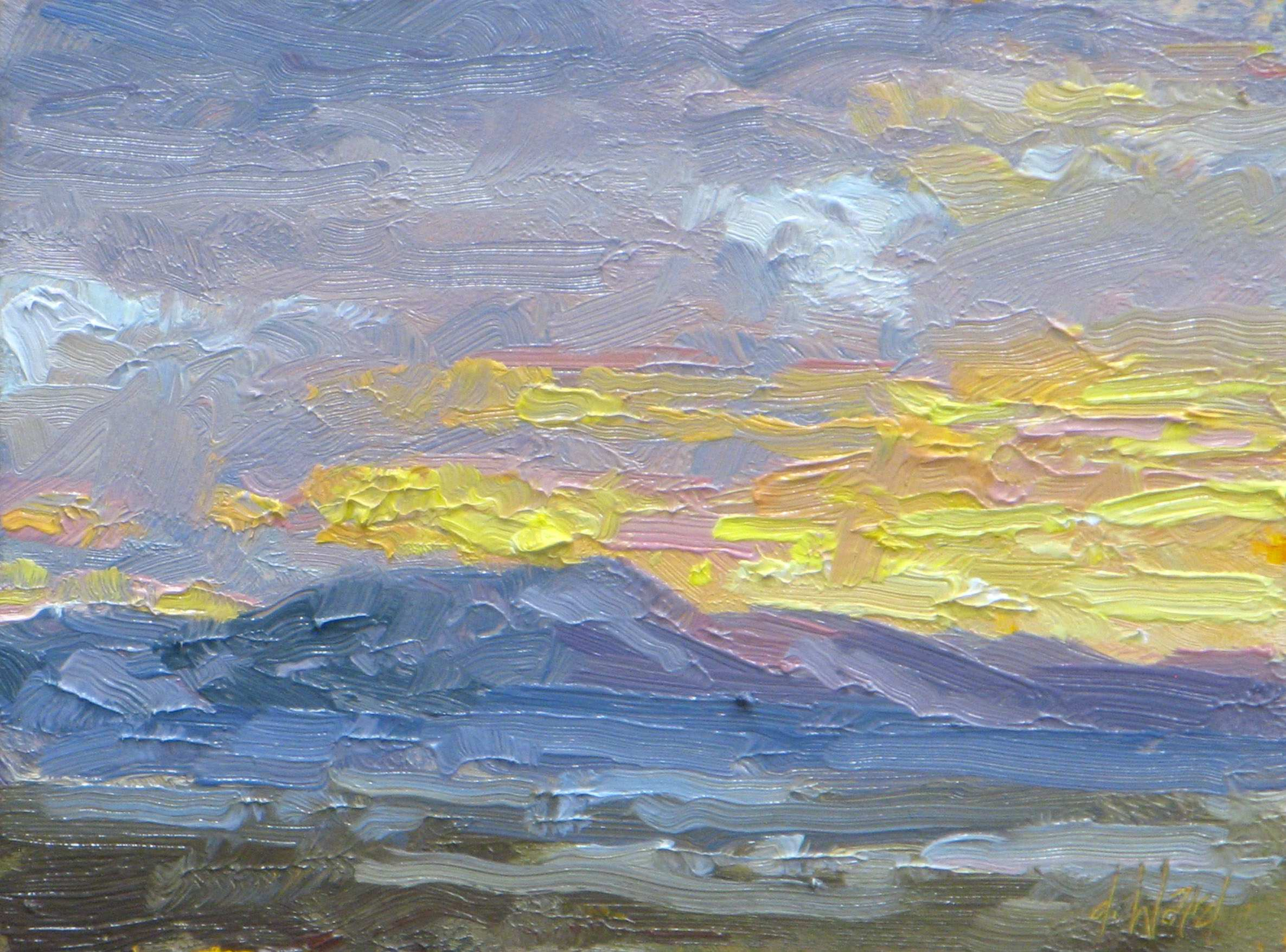Sunset Mauve by  Don Ward - Masterpiece Online