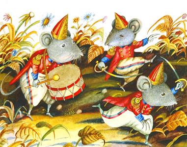 Mice Soldiers by  Valery Vaseliyev - Masterpiece Online