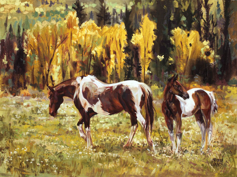Golden Afternoon by  Barbara Summers Edwards - Masterpiece Online