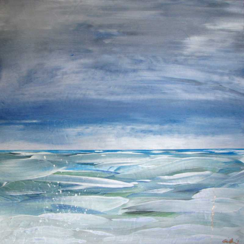 Pacific Blues 16 by  Curt Ginther - Masterpiece Online