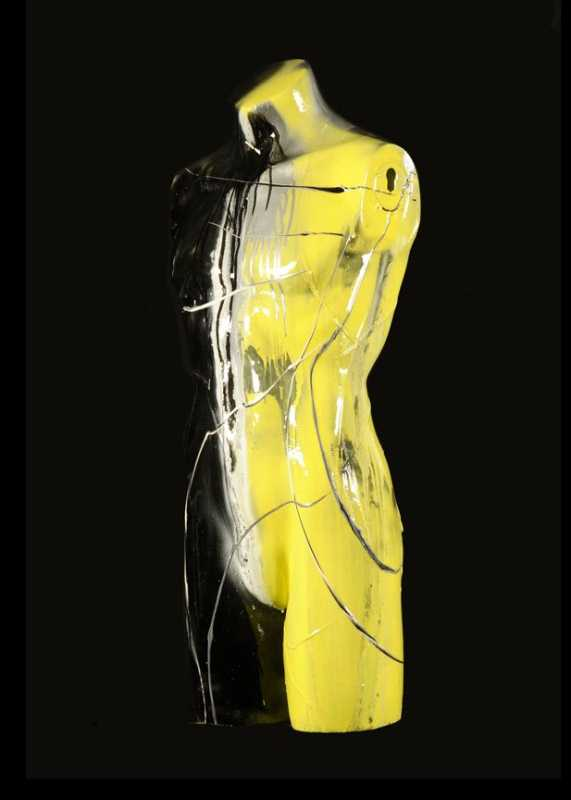 MNQ jaune DEMI HOMME by  Lisabel  - Masterpiece Online