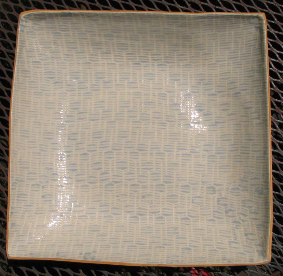11 Square Serving Di... by  Terrafirma Ceramics - Masterpiece Online