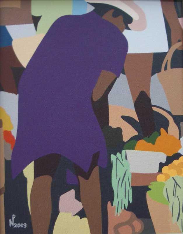 In Violet by Mr. Nigel Pierre - Masterpiece Online