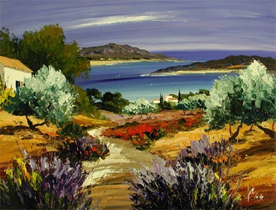 River to the Sea by  Louis  Magre - Masterpiece Online