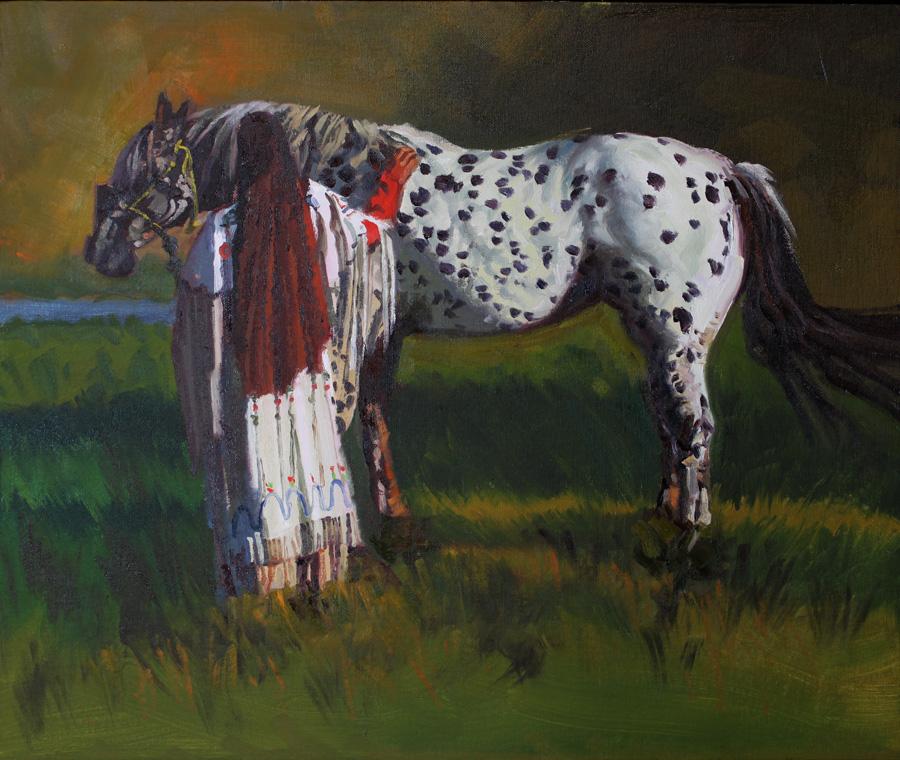 Gentle Horse by  Glen Edwards - Masterpiece Online