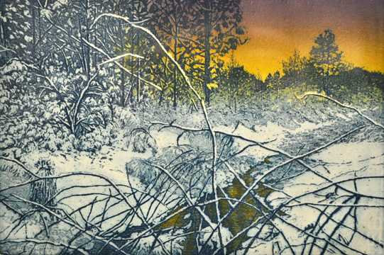 Moments of Winter by  Susan Baehmann - Masterpiece Online