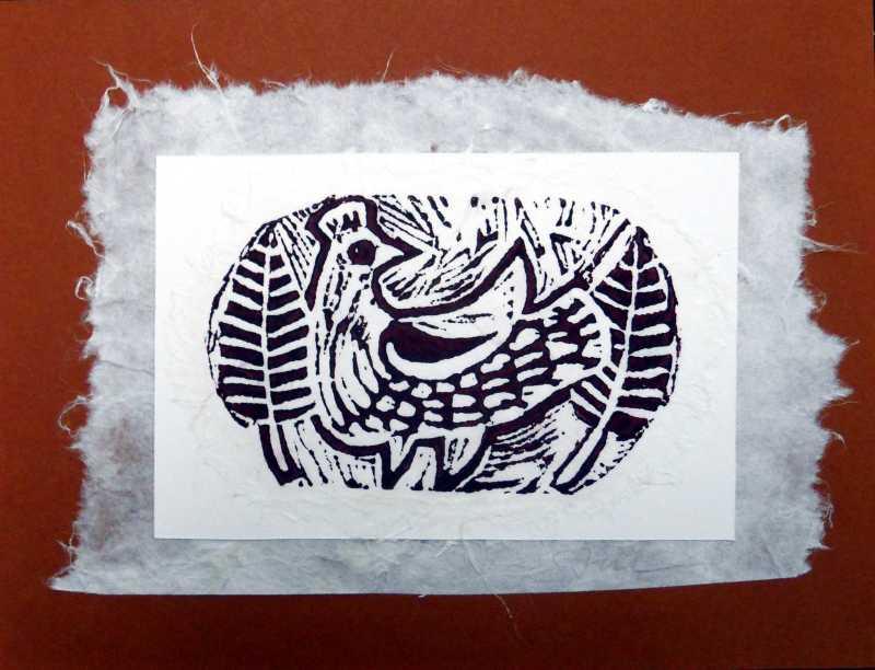 Calabash Bird Brown P... by Ms Lilian Sten-Nicholson - Masterpiece Online