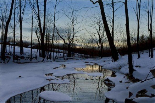 Winter Twilight by  Alexander Volkov - Masterpiece Online