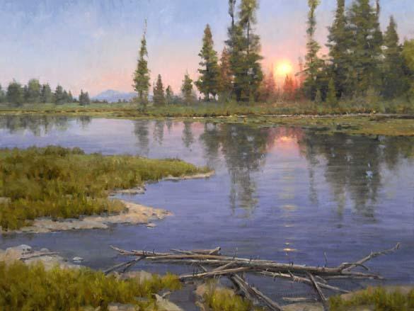 Shining Through by  Jim Wilcox - Masterpiece Online