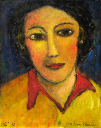 Young Woman by  Andres  Morillo - Masterpiece Online
