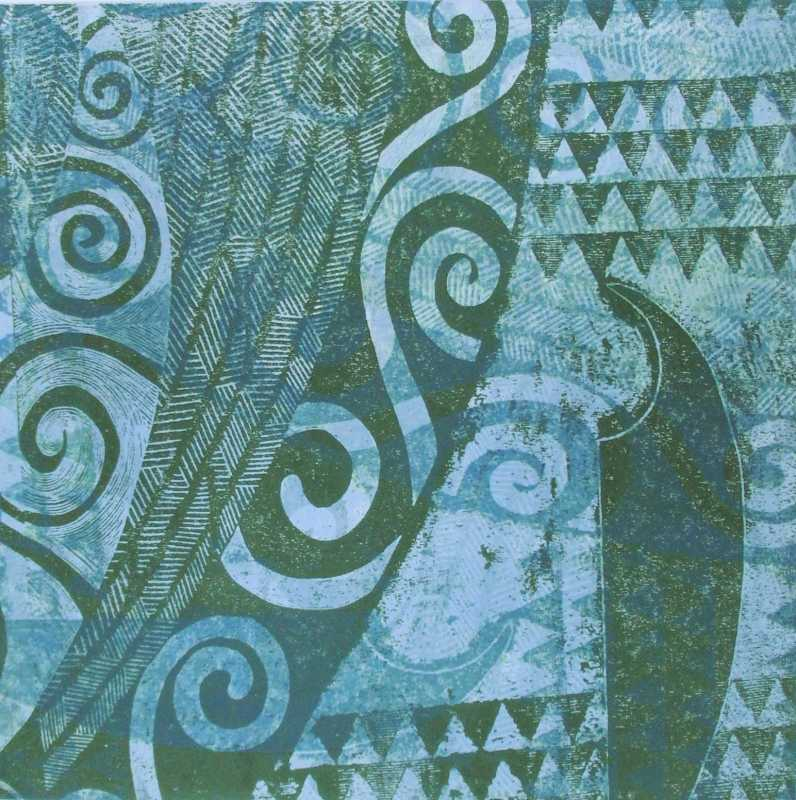 Va'a Series II A/P Bl... by  Sue Pearson - Masterpiece Online