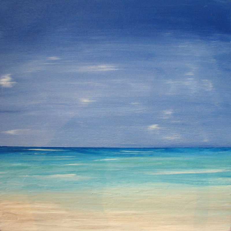 Pacific Blues 1 by  Curt Ginther - Masterpiece Online