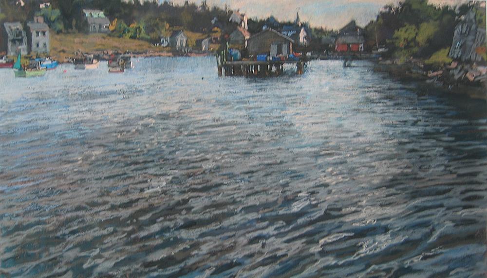 Frenchboro Harbor Hig... by  Daud Akhriev - Masterpiece Online