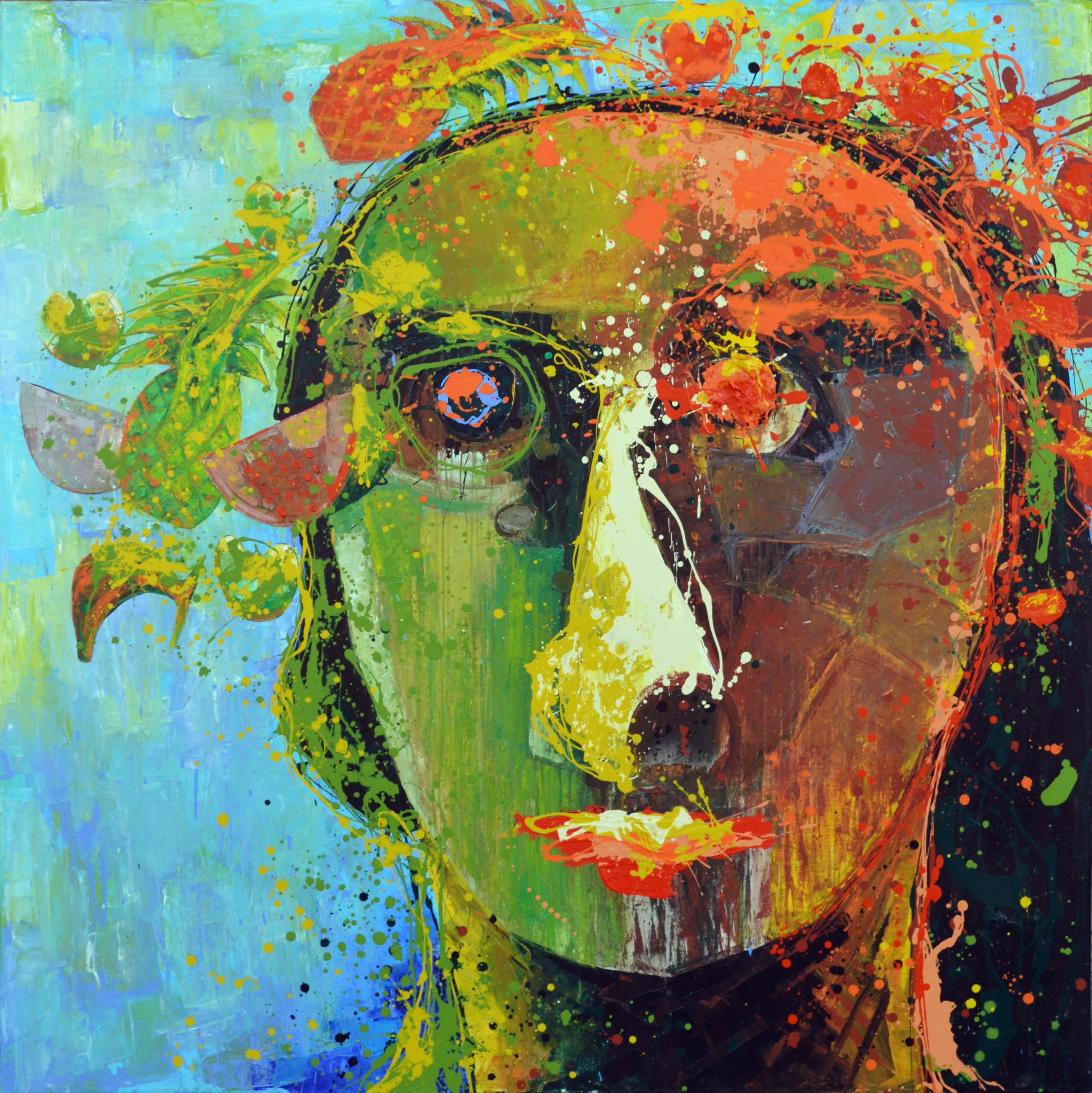 CABEZA CON FRUTAS by Mr. VLADIMIR CORA - Masterpiece Online
