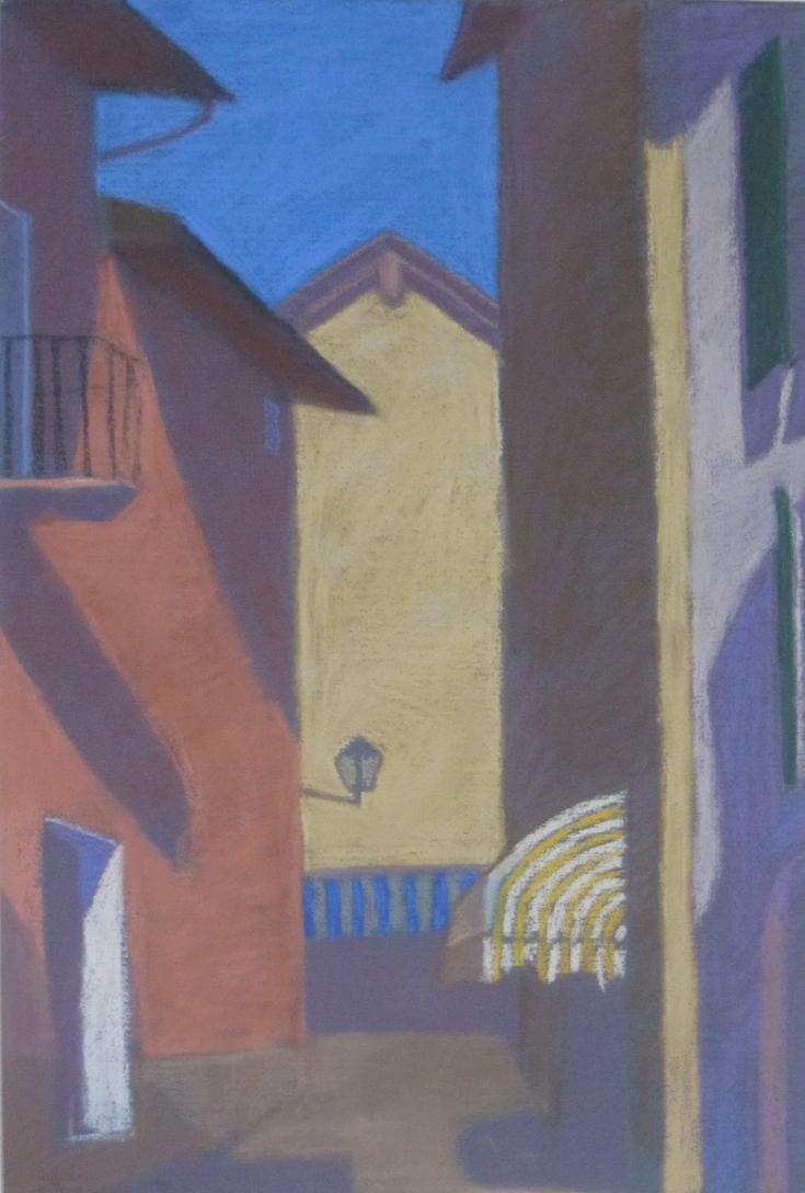 Old Locarno Pastel by  Melissa Hefferlin - Masterpiece Online