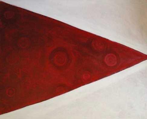 Red Triangle by  Herman Pi'ikea Clark - Masterpiece Online