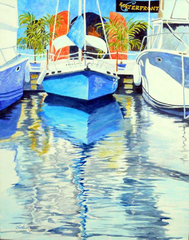 Waterfront  I by Mrs. Christine Taylor - Masterpiece Online