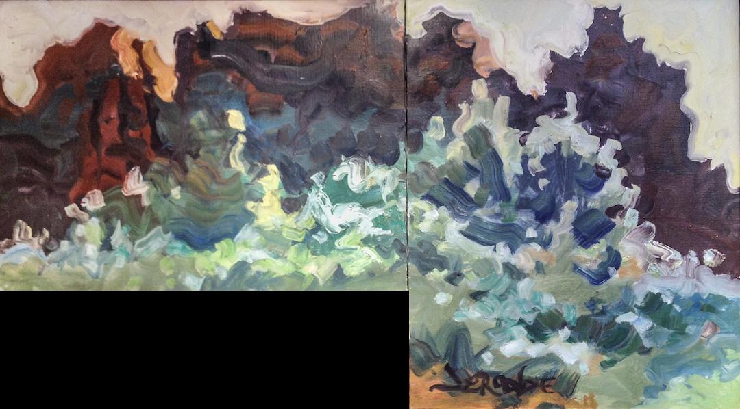 Leaning on Light by  Adele Seronde - Masterpiece Online