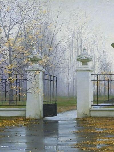 Autumn Gate by  Alexei Butirskiy - Masterpiece Online
