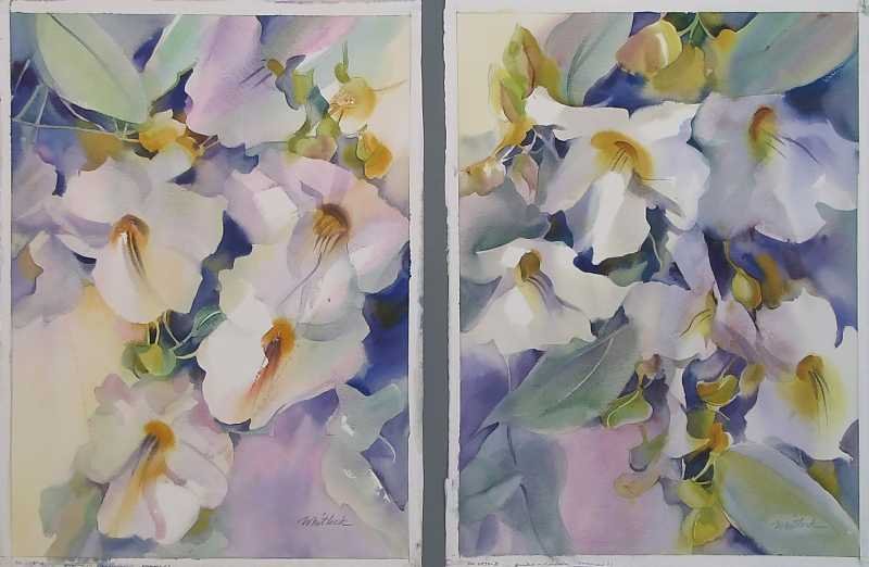 Morning Blossoms by  Roger Whitlock - Masterpiece Online