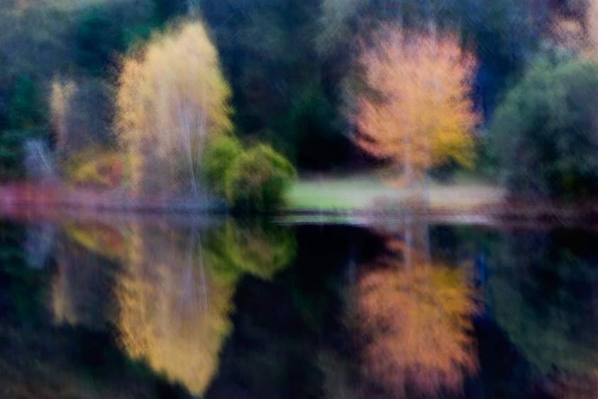 Autumn Reflections, 2... by  Michael Stimola - Masterpiece Online