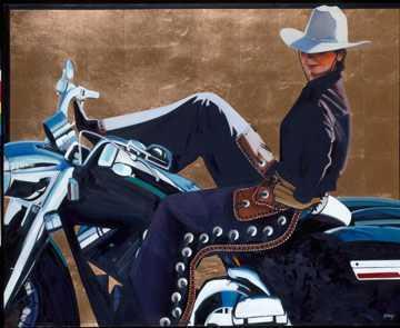 Pony Ride by  David DeVary - Masterpiece Online