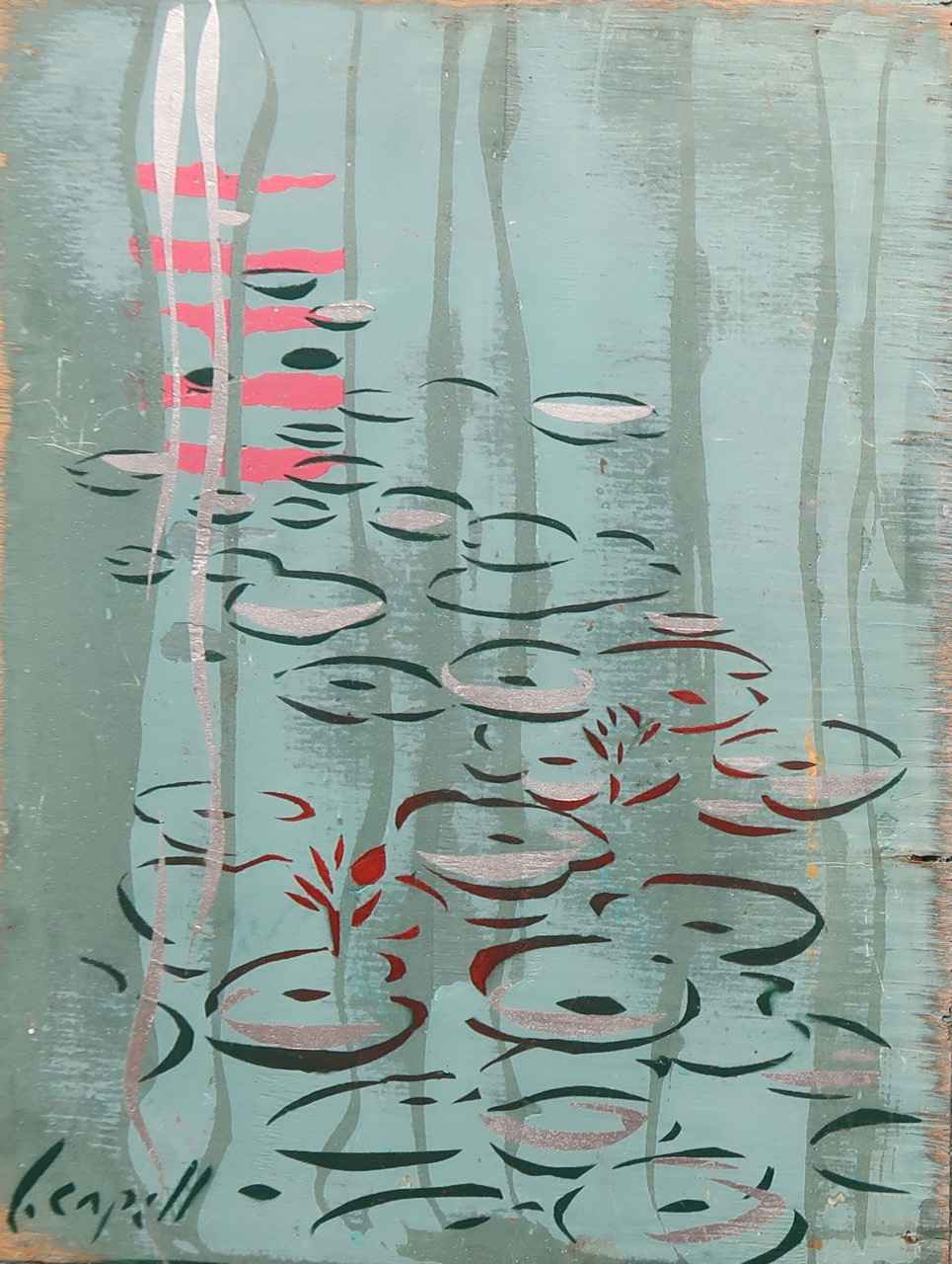 Lily Pad 1 & 2 by  Lynn Capell - Masterpiece Online