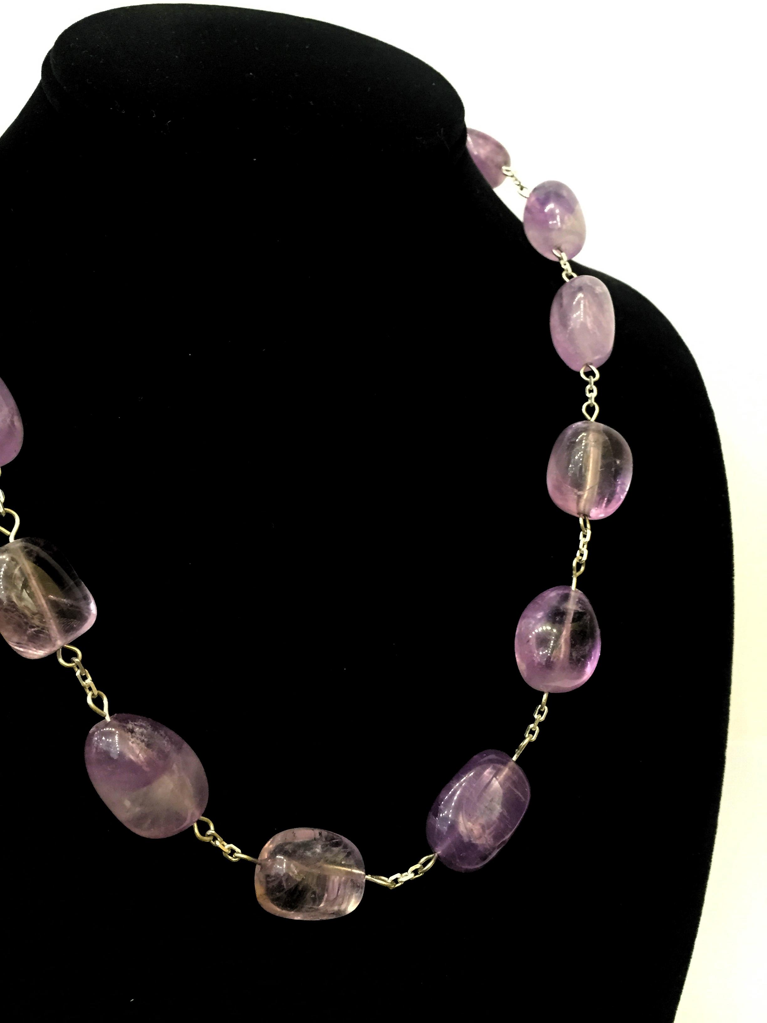 Amethyst Necklace by  Todd Stallkamp - Masterpiece Online